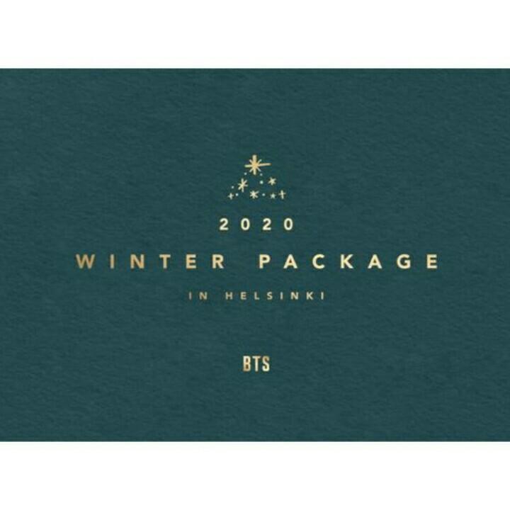 (First Batch) 2020 BTS WINTER PACKAGE in HELSINKI Case+Book+DVD+Etc
