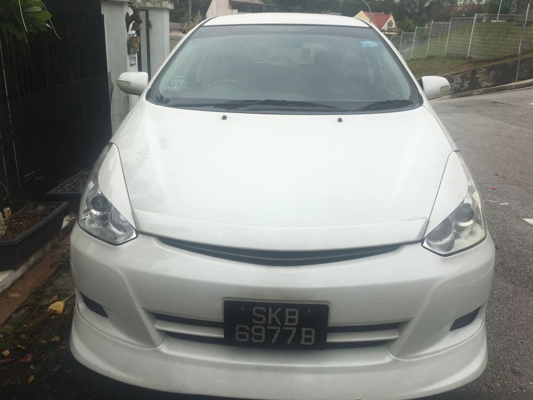 Whatsapp 88567422/91803667. $300 Weekly. Toyota Wish NIGHT Relief Driver. Rivervale Crescent