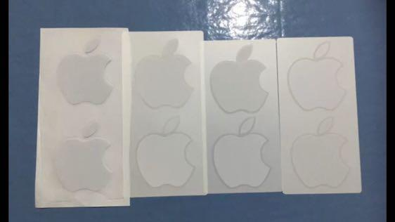$4 Absolute Bargain - Brand New Genuine Apple Logo Stickers