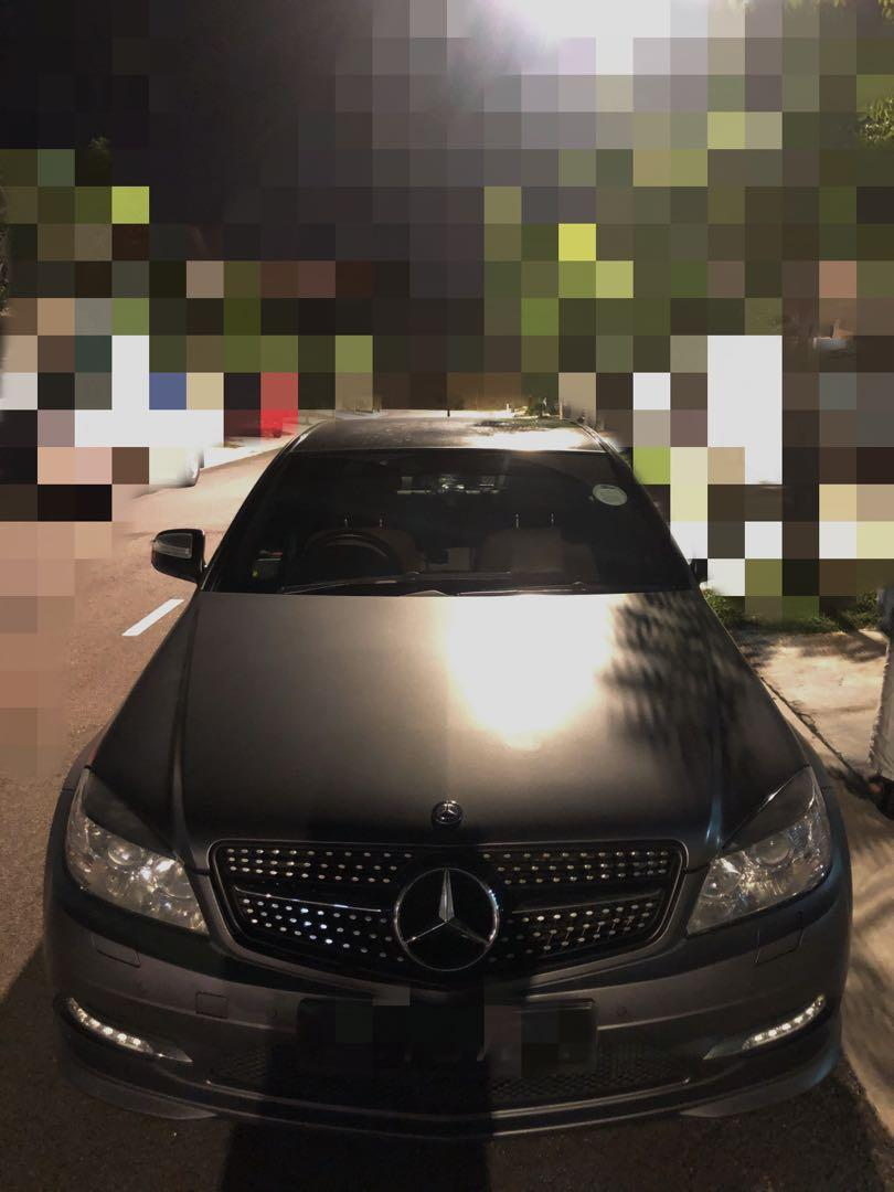 📣 MERCEDES C200 FOR RENT