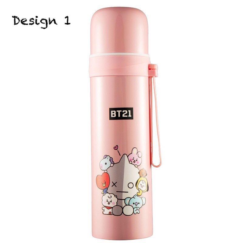 Baby BT21 BTS Water Tumbler/ Thermos Flask / Vacuum Flask / Water Bottle