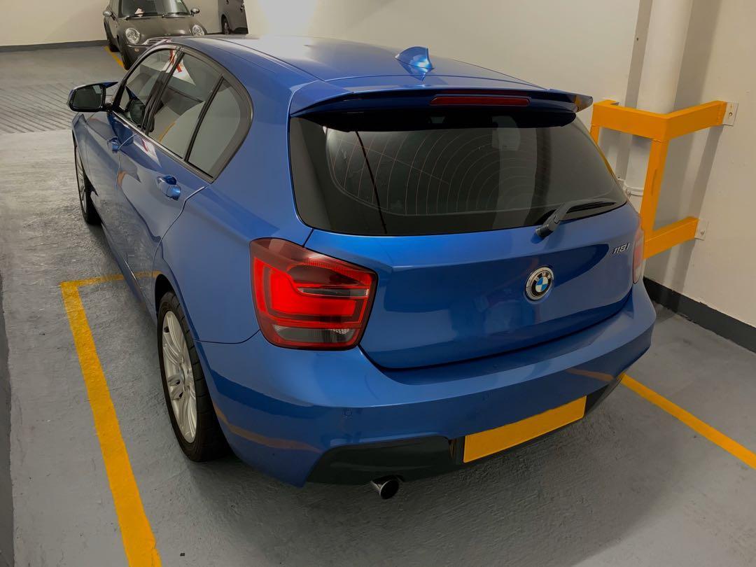 BMW 118I M Sport Edition (F20) 2012年
