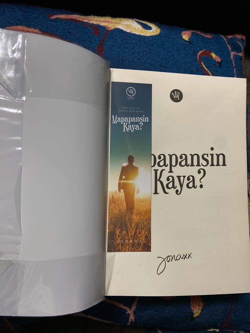 "book 2 of the alegria boys series ""Mapapansin Kaya?"" by Jonaxx (Wattpad book)"