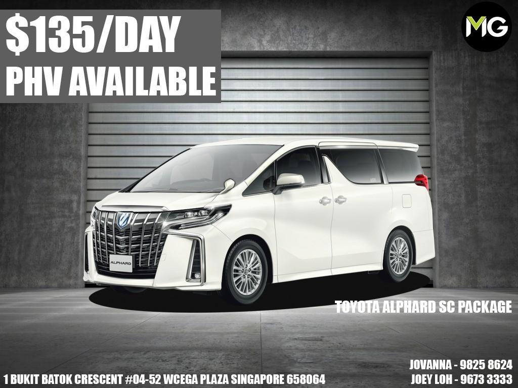 Brand new cars for rent. *PHV READY*