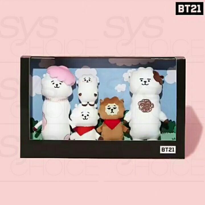 BTS BT21 Official Authentic Goods RJ Doll SET Universe