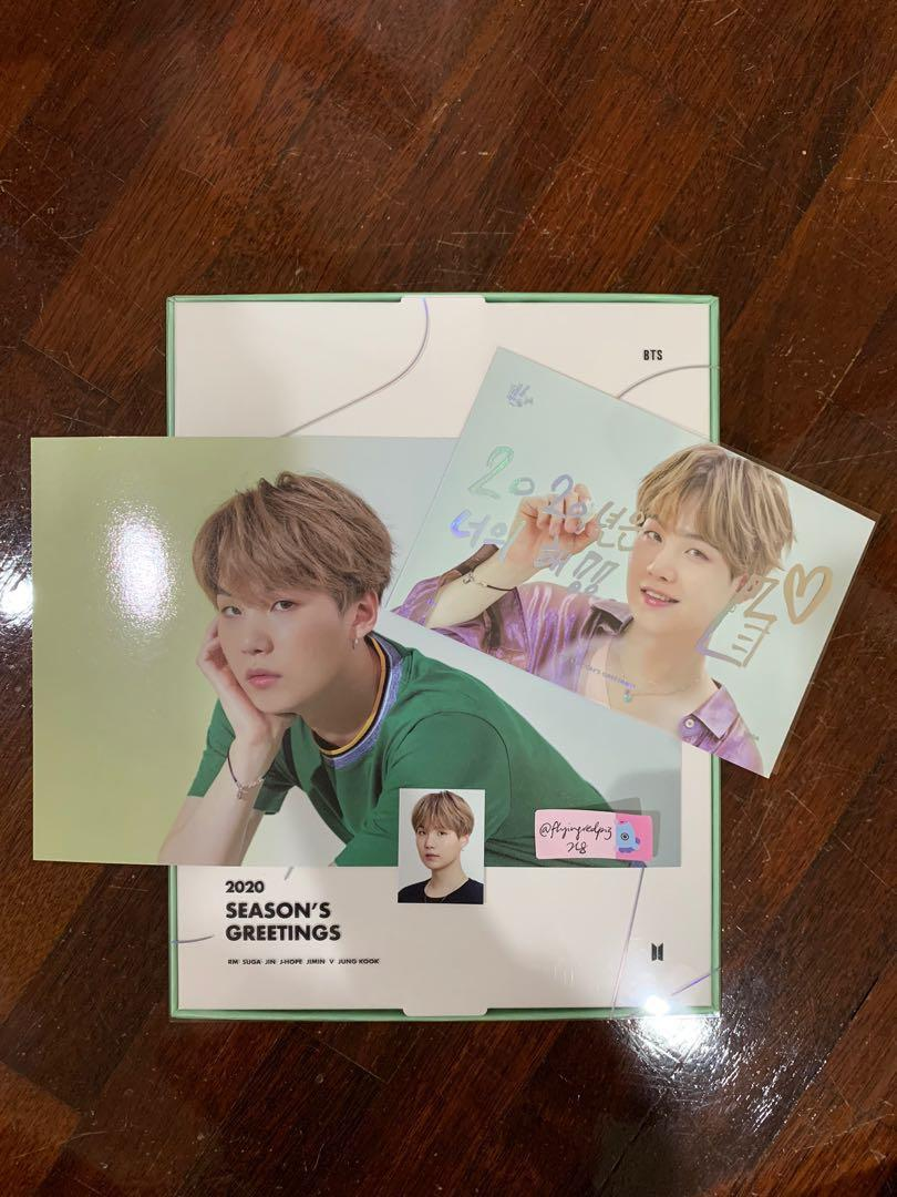 [CNY SALE] BTS Official 2020 Season's Greetings Ready Stock Loose Items
