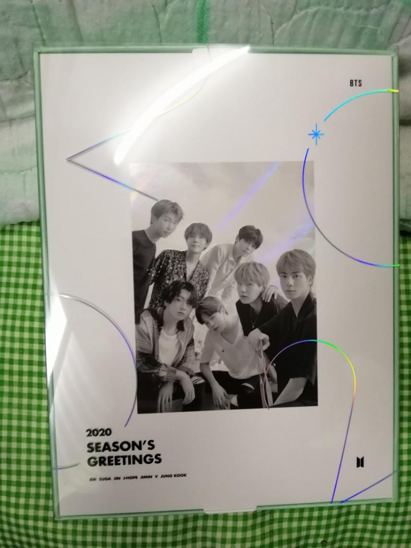 BTS SEASONS GREETING 2020 - Out sleeve case + making dvd