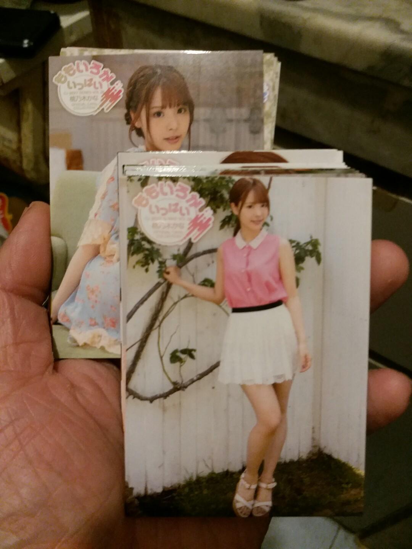 CJ 2019 Print in Japan 桃乃木   白卡一套72張