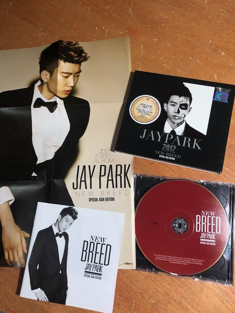 (WTS) JAY PARK New Breed Album Special Asia Edition
