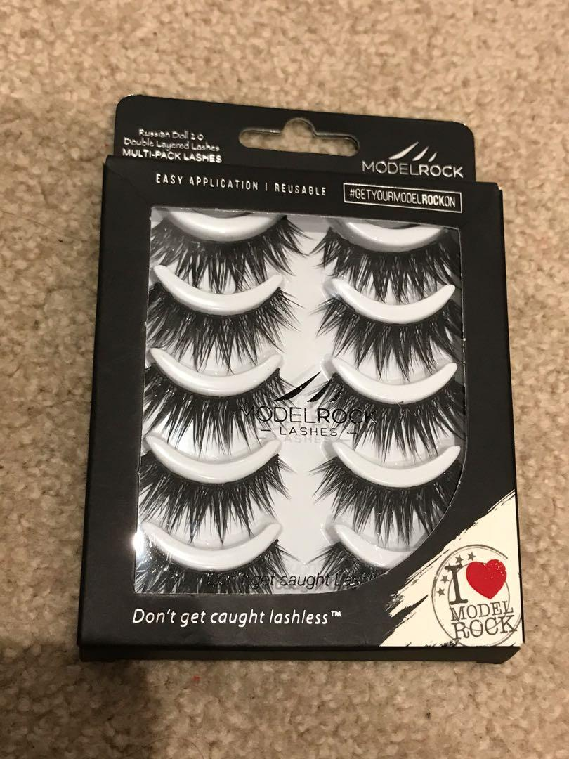 ModelRock Lashes - Russian Doll 2.0 Multipack 5 pairs
