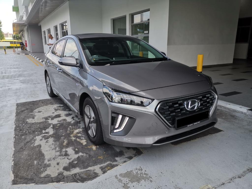 NEW $75/day before gojek rental rebate Hyundai Ioniq hybrif