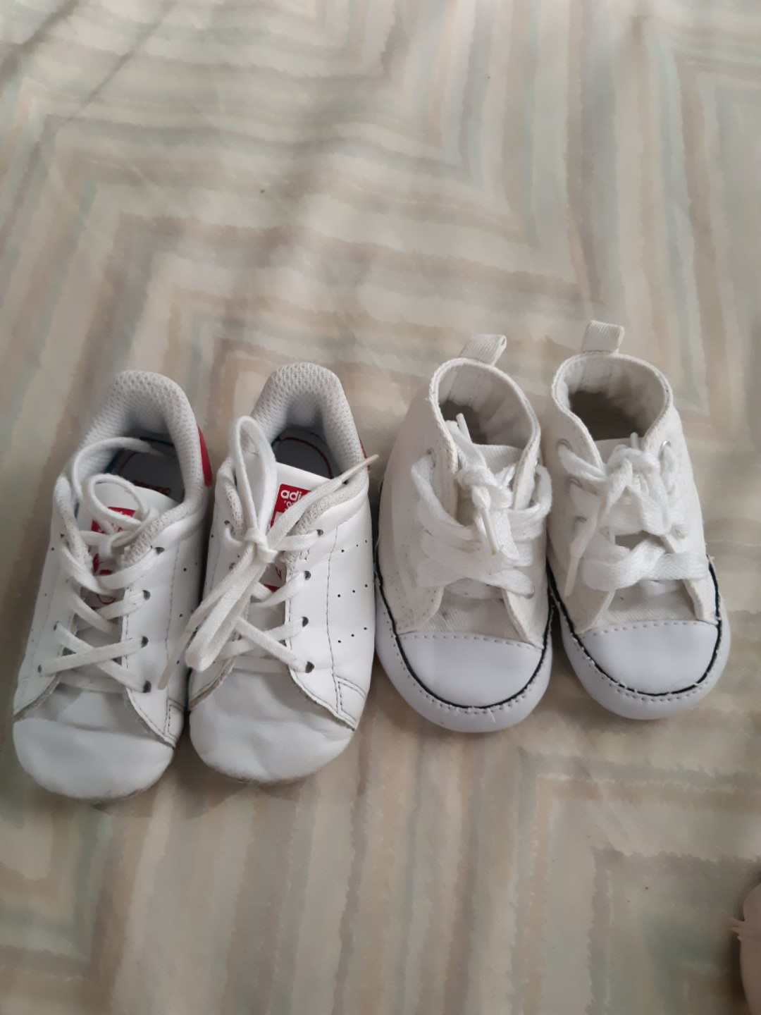 rivale falciare FALSE  Original Stan smith and converse for babies take all, Babies & Kids, Babies  Apparel on Carousell