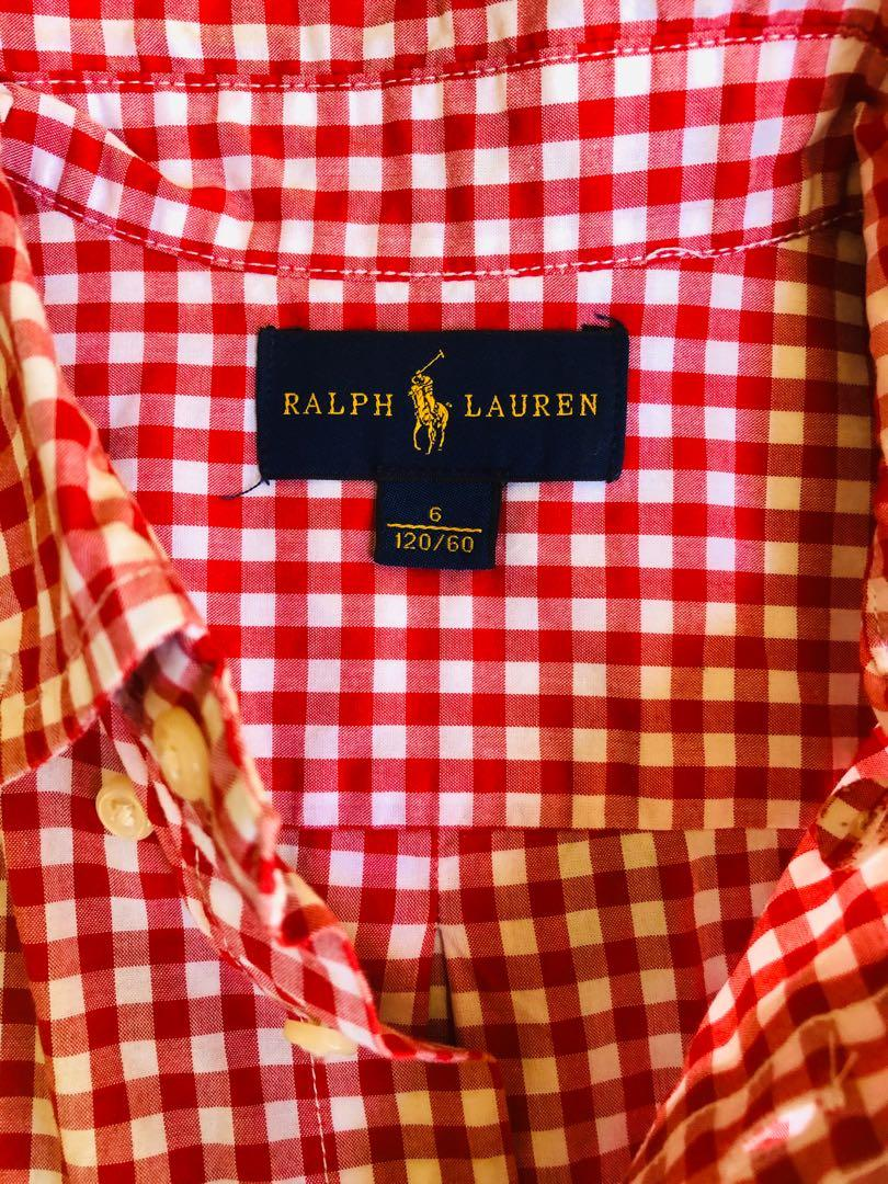 Ralph Lauren Shirt in great condition for a 6 year old