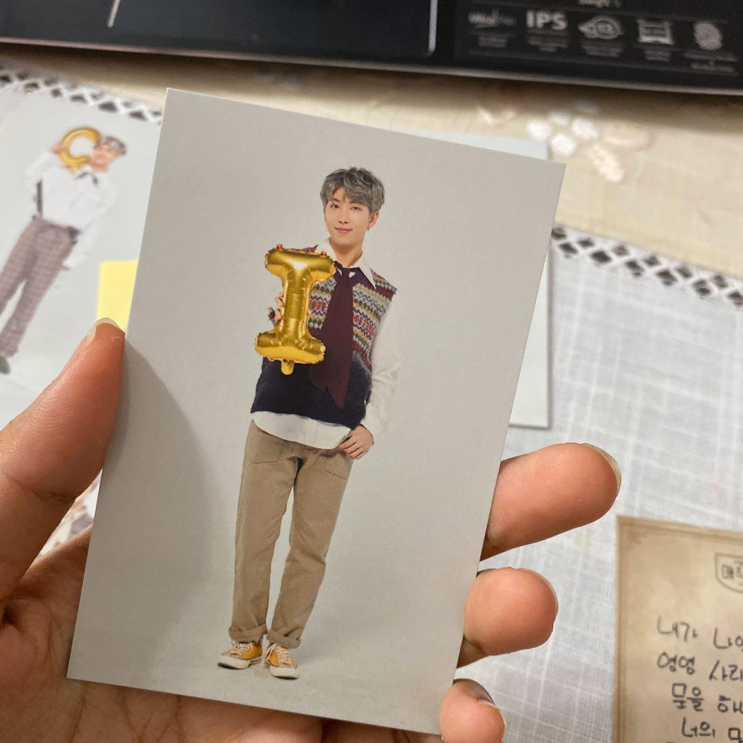 [RARE] Official BTS Muster Magic Shop Playzone Wish Tree Photocard (RM ver)