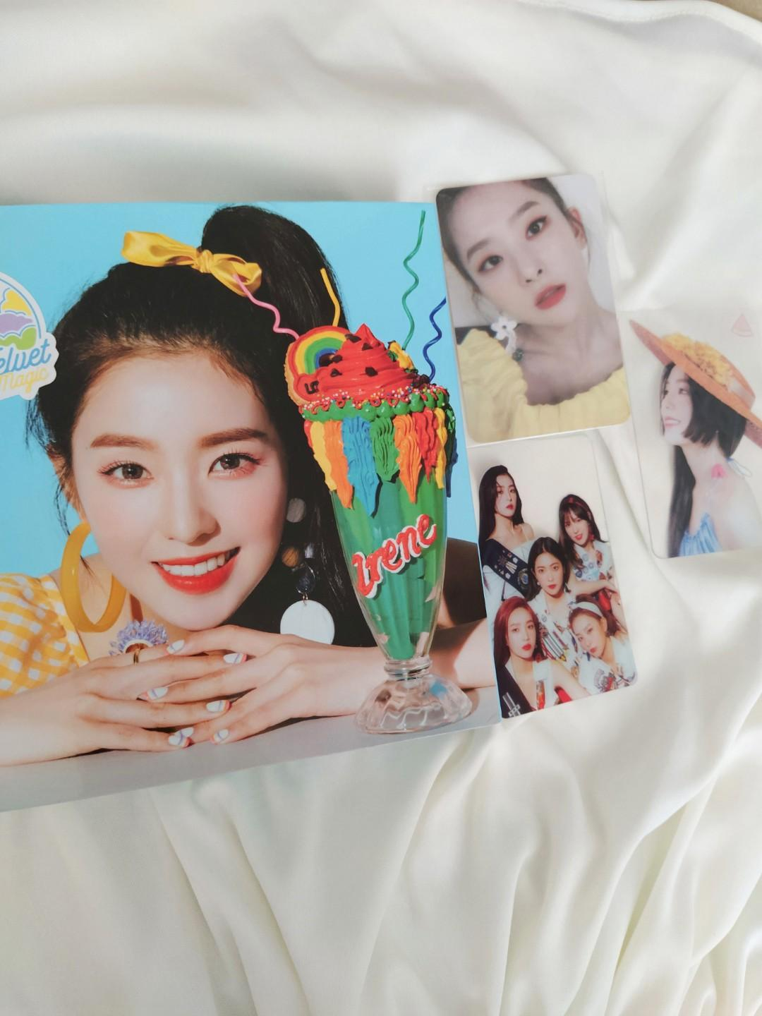 Red velvet Summer Magic Limited addition Irene ver.