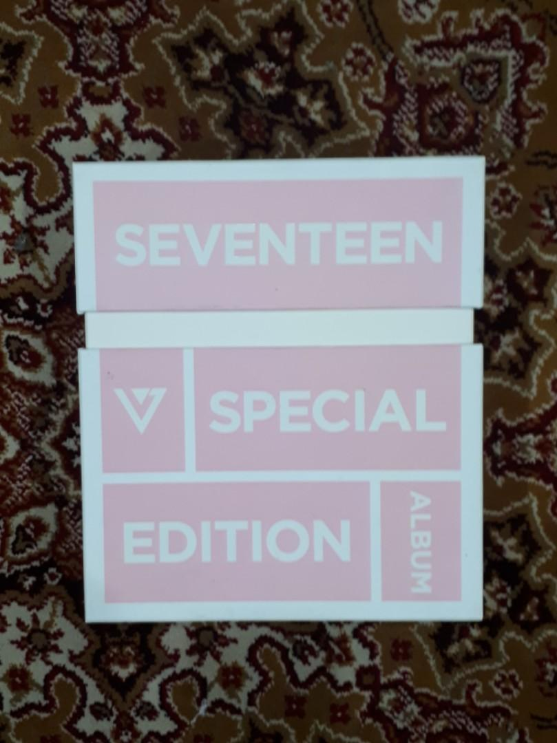 Seventeen Special Edition Love & Letter Repackage album