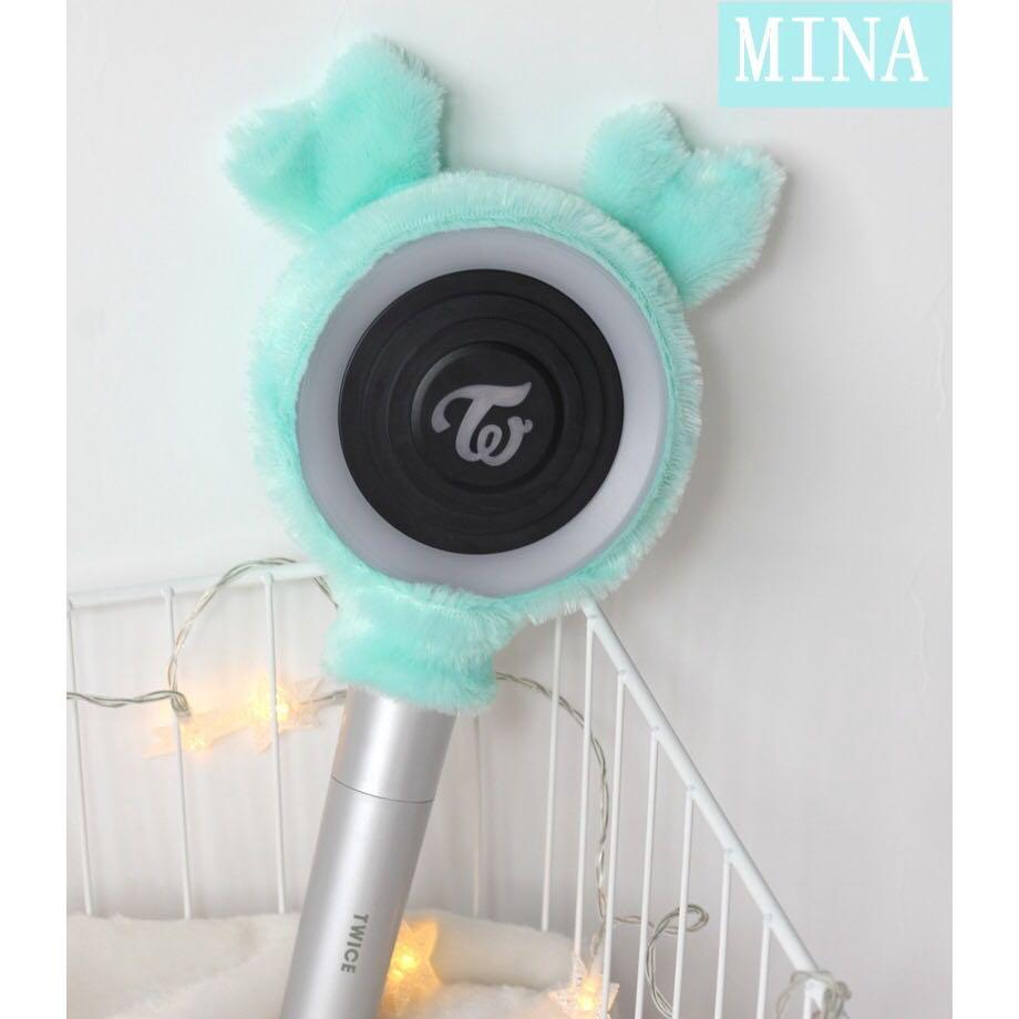 TWICE Candy Bong Cute Headband Cover For Once Official Lightstick/ Light Stick