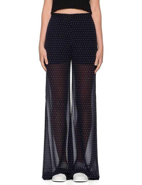 Victoria & Woods Aspiration Flare Polka Dot Pants Size 0