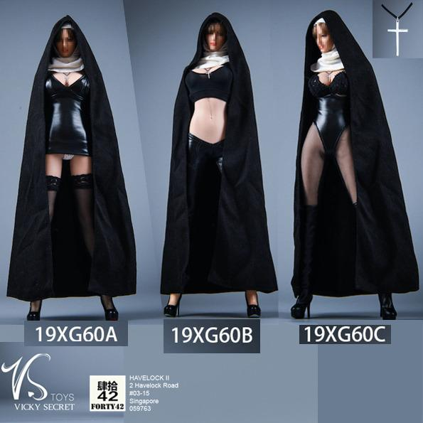 Vstoys 19xg60a B C 1 6 Hitman The Saint Nun Costume Toys Games Bricks Figurines On Carousell