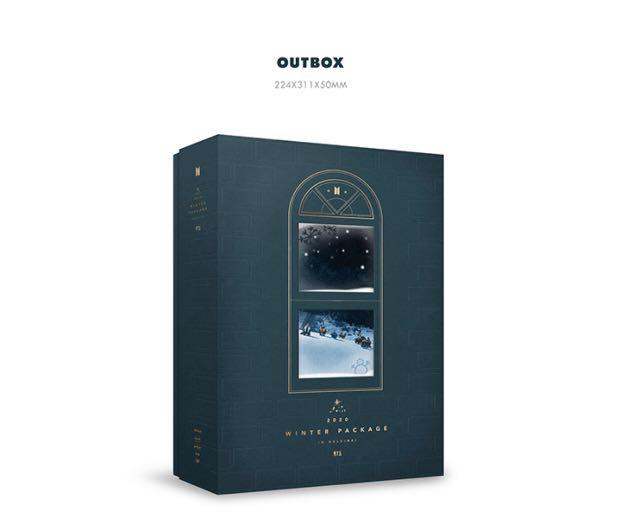 [WEPLY RESTOCKED] BTS 2020 Winter Package (secured item)