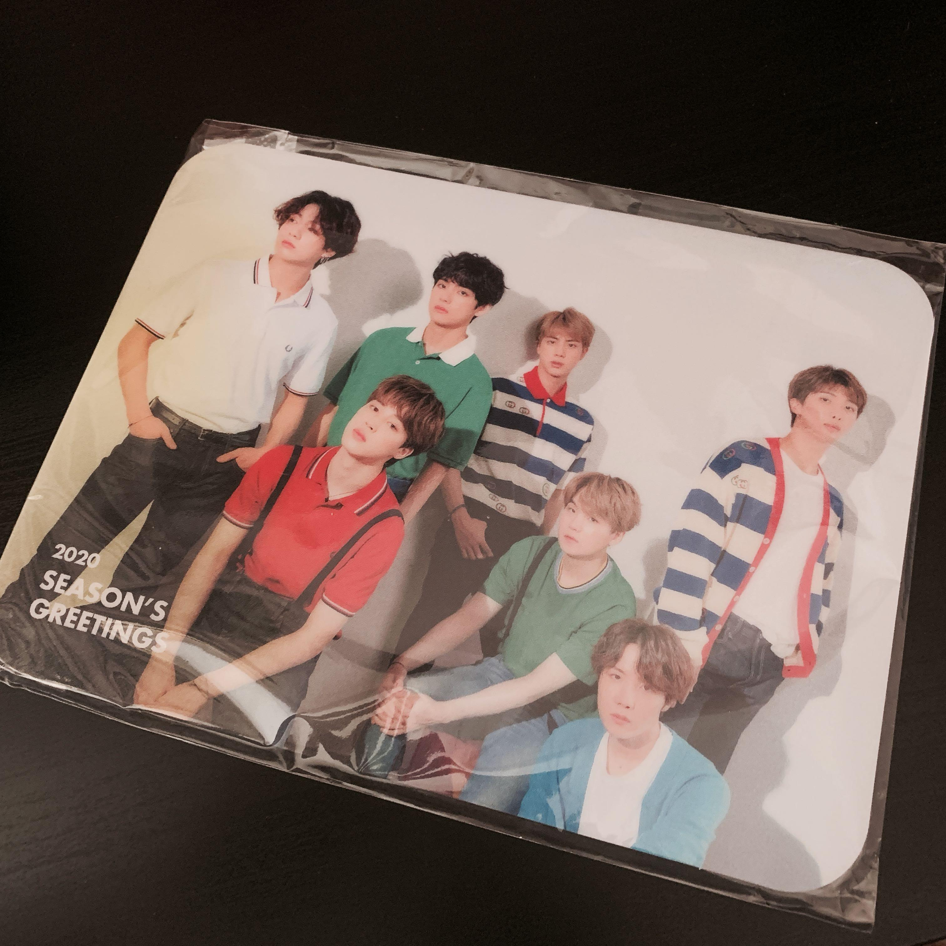 WTS BTS Season's Greetings Limited Edition Mouse Pad