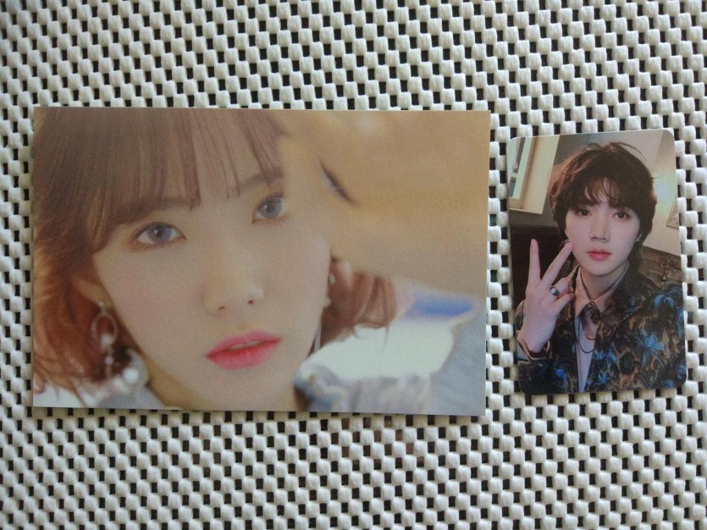 [WTS] Kpop photocards - ATEEZ/The Boyz/WJSN/NU'EST/Golden Child/ONEUS/GIDLE/IZ*ONE/Taeyeon