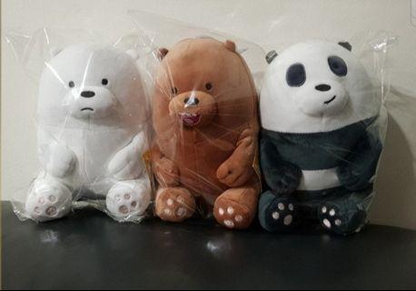 We Bare bears plush/ soft toy