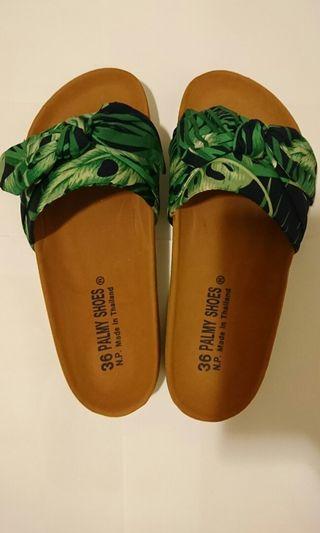 全新泰國36碼女裝沙灘涼鞋