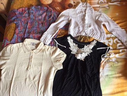 Preloved blouse and shirt #bonusgopay