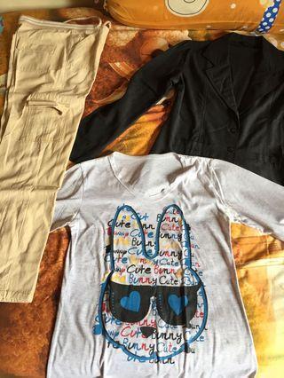 Preloved celana blazer kaos #bonusgopay