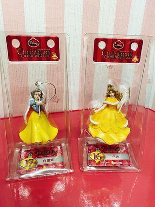 絕版2015年迪士尼公主一番賞白雪公主貝兒