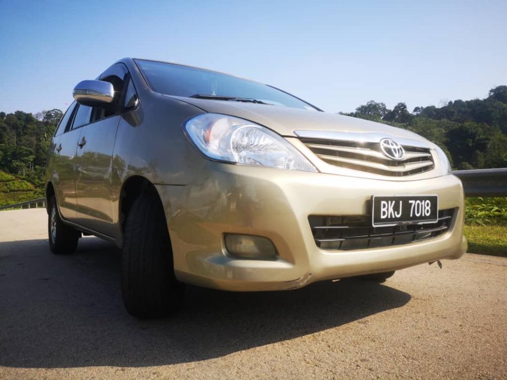 2009 Toyota INNOVA 2.0 E (A)  B/L LOAN KEDAI DP 2-3k