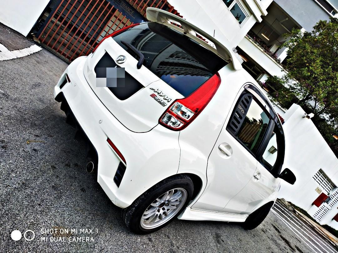 2011 perodua myvi 1.5 SE (A)