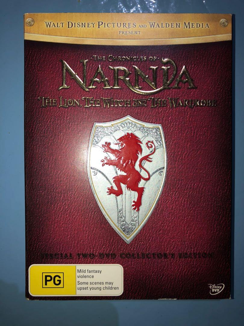$4 Absolute Bargain - 2006 Very Rare Narnia Lion Witch Wardrobe DVD
