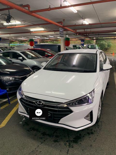 Brand new Hyundai avante 1.6