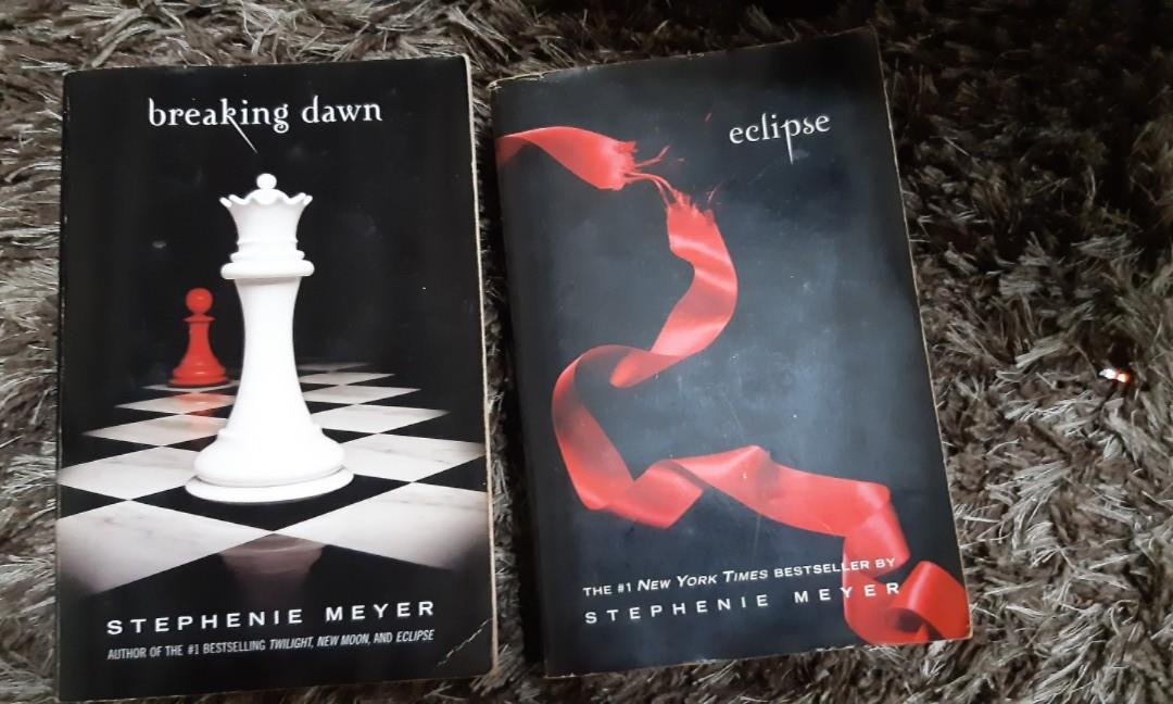 Breaking Dawn and Eclipse (Twilight Series by Stepahnie Meyer)