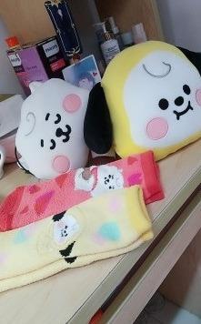 BT21 official baby face cushion bts chimmy rj jimin jin
