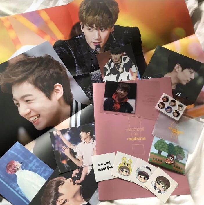 bts jungkook can you be my euphoria photobook set loose items