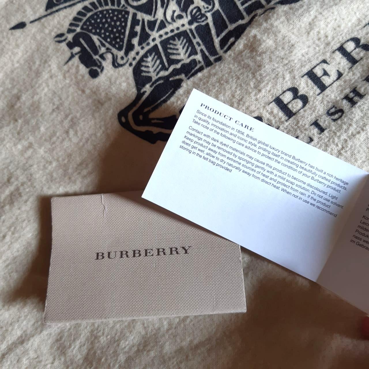 Burberry Nova check red nickie Tote Bag  ORIGINAL from store (Preloved clean / no defect) #awal2020