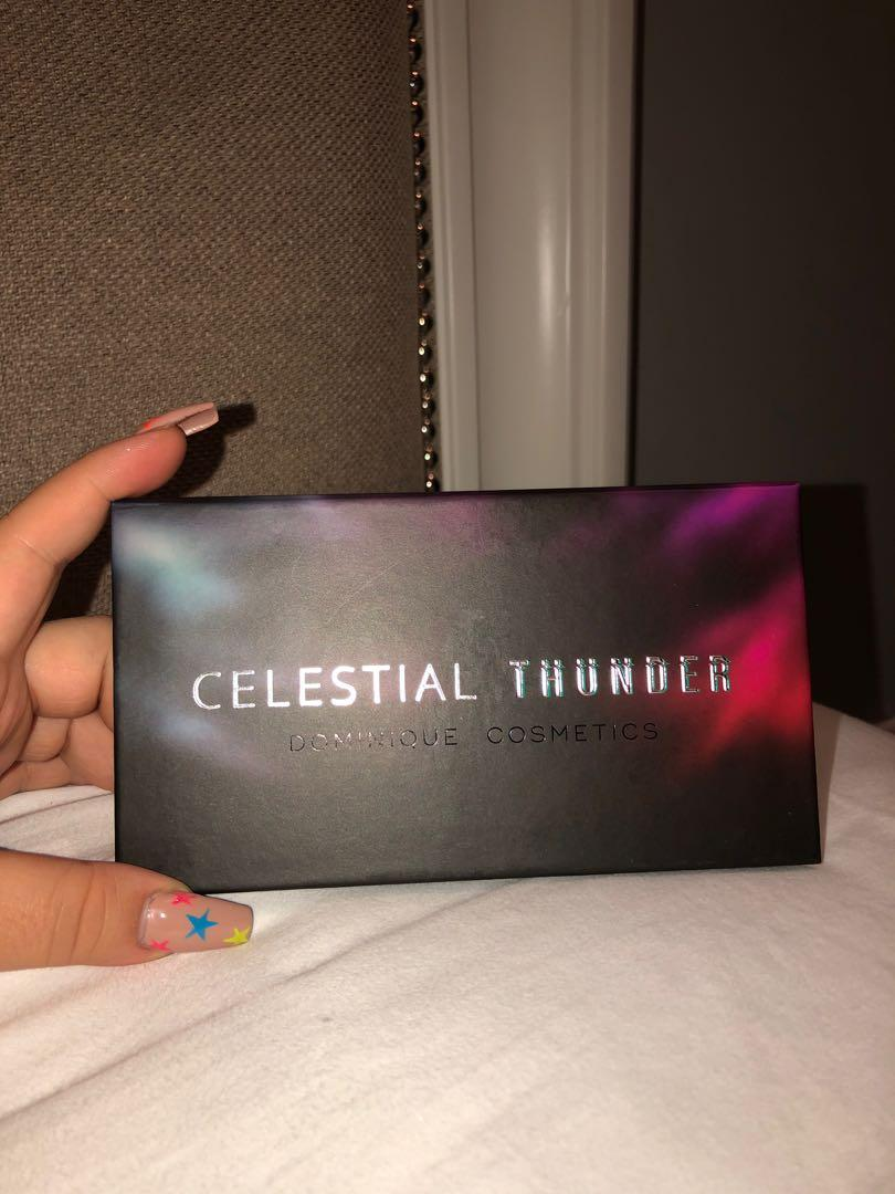 DOMINIQUE COSMETICS / Celestial Thunder eyeshadow palette