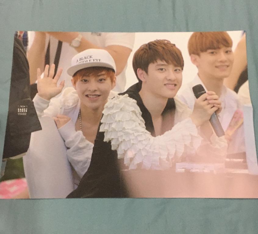 EXO Xiumin Kim Minseok Fansite Candybunch Photobook & Poster