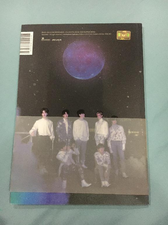 GOT7 Present: YOU & ME album with yugyeom Photocard, preorder benefit & folded poster