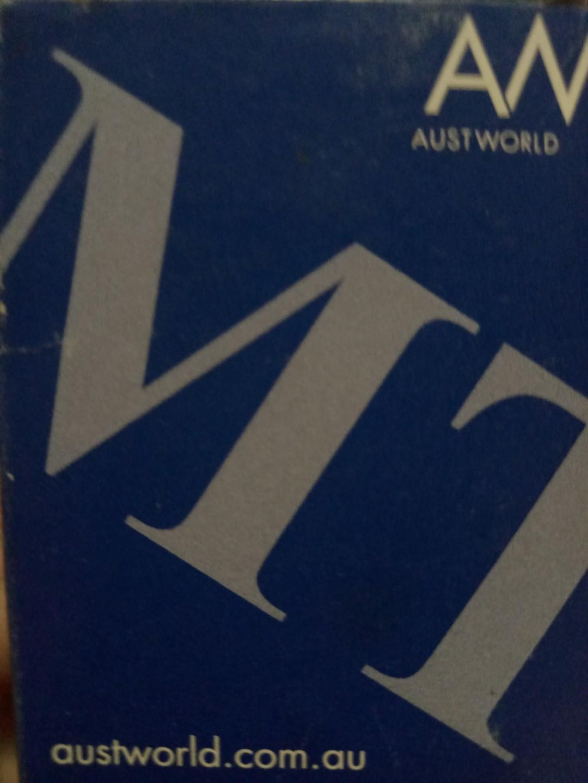 MONOPOLY TAPWARE  Standard Mini Cistern Tap Stop Toilet Shut Off Valve