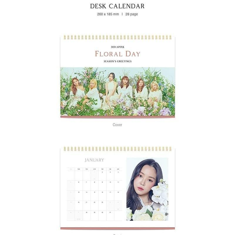 (MY GO) APINK - 2020 SEASON'S GREETINGS - FLORAL DAY