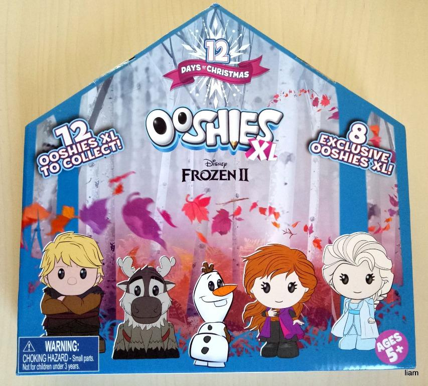 New Disney Frozen 2 Ooshies XL - 12 Ooshies XL to collect 12 Days of Christmas Unwanted Gift