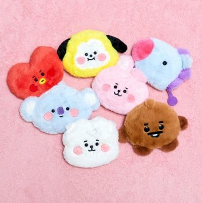 Official FREE POSTAGE bt21 baby fur coin purse bts