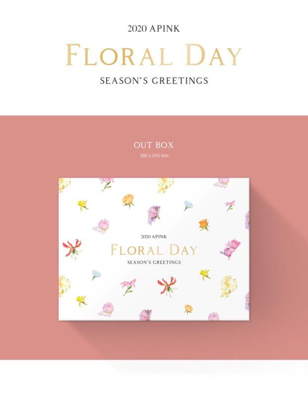 [PREORDER] APINK 2020 SEASONS GREETINGS FLORAL DAY