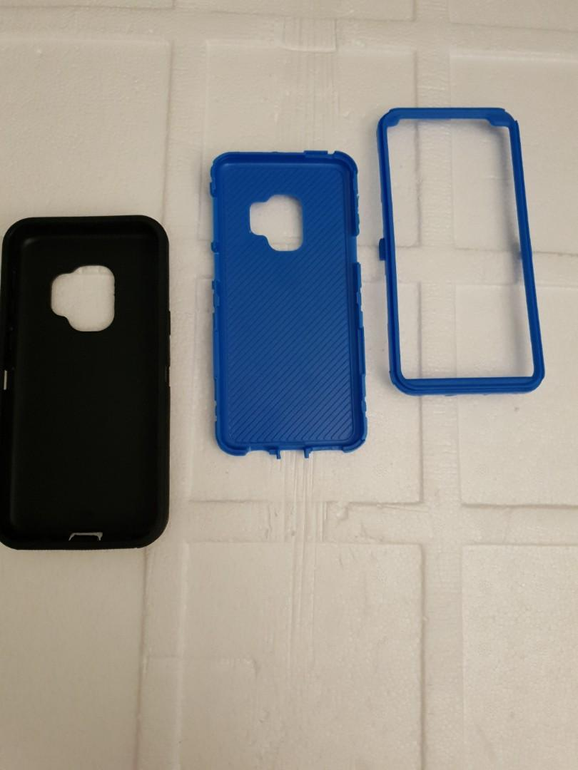 Rugged Shockproof Case with in-built Screen Protector