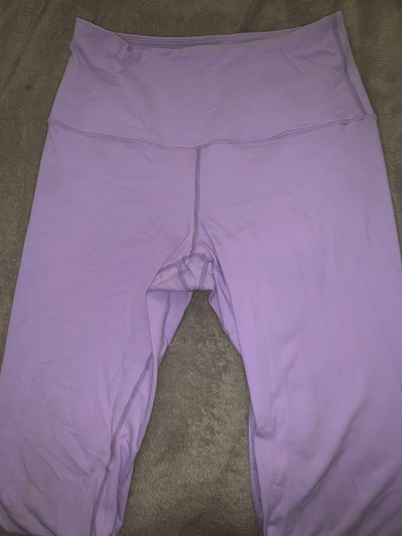 saski collection purple leggings (limited edition)