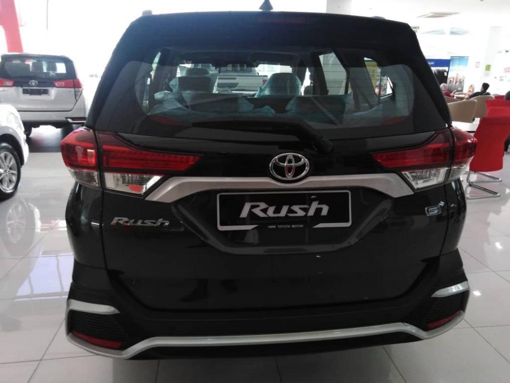 Toyota Rush 1.5s Full Loan / Senang Lulus Toyota Capital